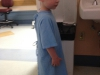 The indignity of a hospital gown