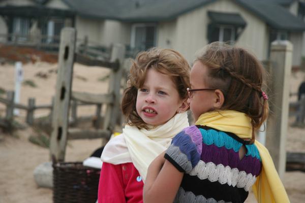 Irene and Cousin Abby plotting