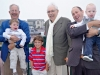 Four generations of Harris men: Yayo, Jonah, Aaron, Super Yayo, Tio and Sam