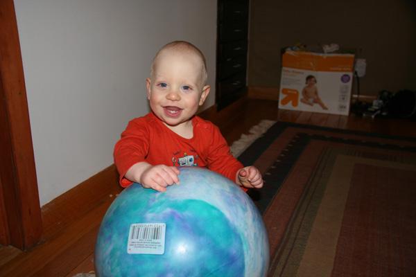 8 - Eighteen months old - 22 lbs 14 oz