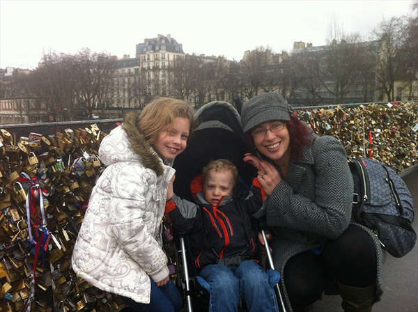 Sam the Anti-Preemie in Paris