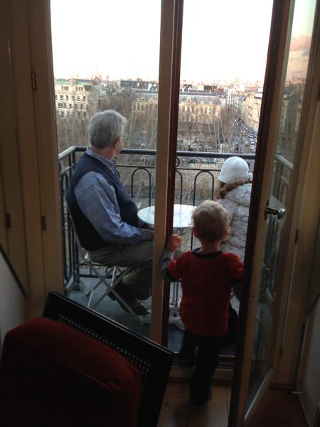 Sam the Anti-Preemie in Paris