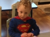 Super Sam waiting for an important call