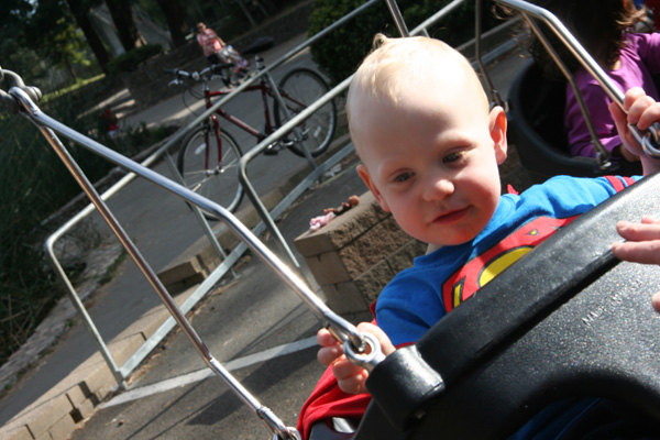 Sam the Anti-Preemie: The artsy swing shot