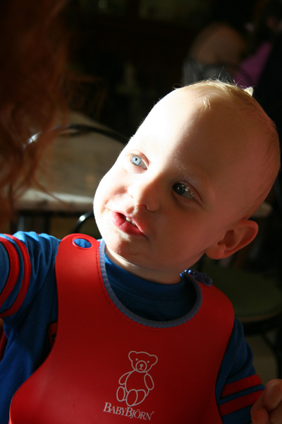 Sam the Anti-Preemie: Sam at Fenton\'s