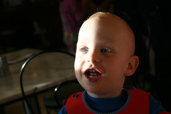 Sam the Anti-Preemie: What a smile