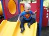 Sam the Anti-Preemie: On the slide
