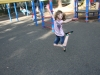 Sam the Anti-Preemie: She can fly!