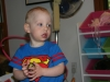Sam the Anti-Preemie: Gazing at his sissy