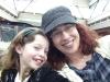 Irene and me on the indoor ferris wheel at Scheel's