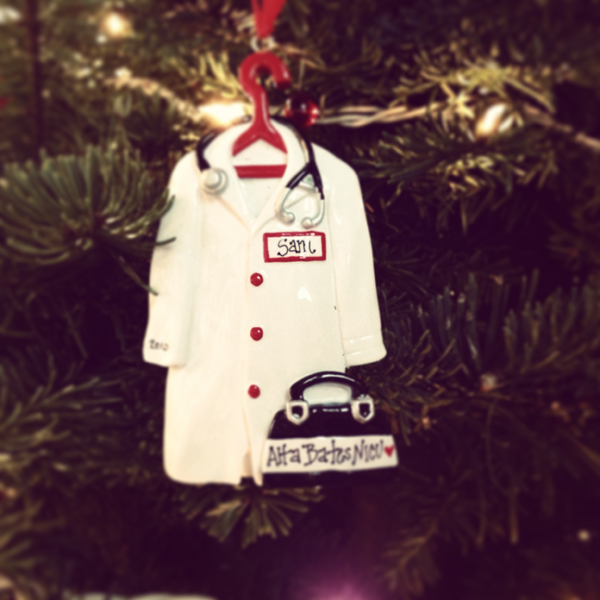 Sam\'s best ornament