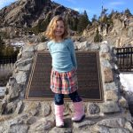 Sam the Anti-Preemie's sister in Tahoe