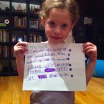 Sam the Anti-Preemie's sister writes a song