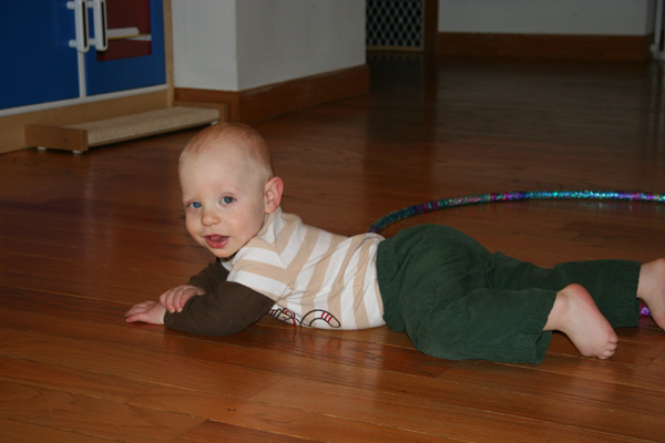 Sam the Anti-Preemie rests