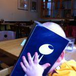 Peek-a-boo with the menu