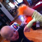 Sam the Anti-Preemie and Beaker