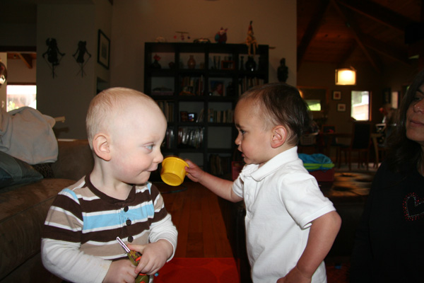 Sam the Anti-Preemie with Bennett