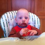 Sam the Anti-Preemie and his Chocolate Face