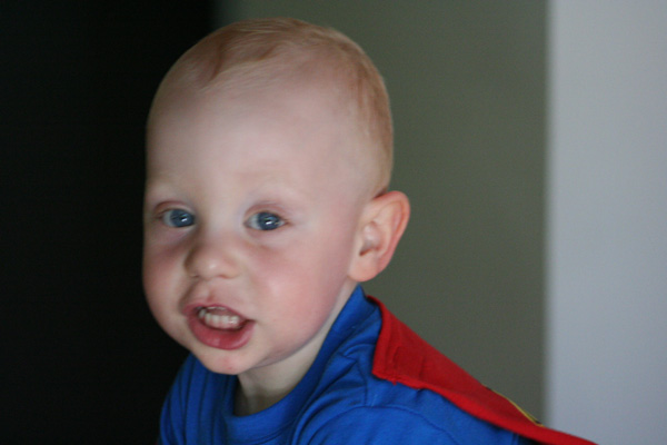 Sam the Anti-Preemie: Superman Sam
