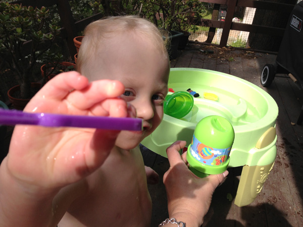 Sam the Anti-Preemie and his bubbles