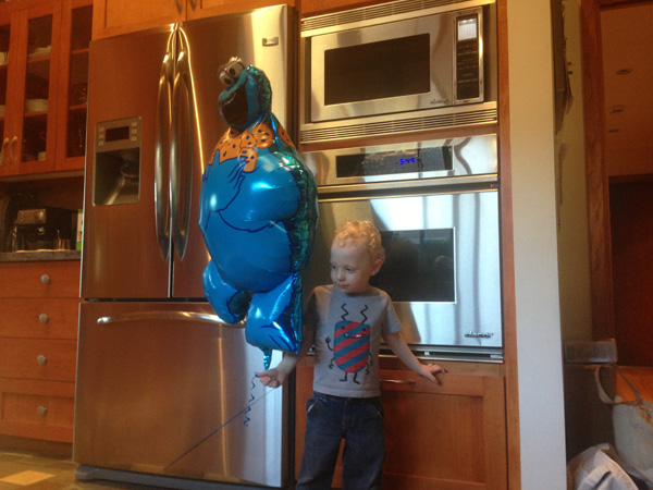 Sam The Anti-Preemie: Birthday