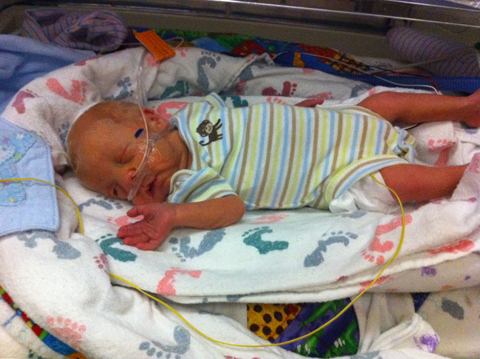 Sam The Anti-Preemie: Then